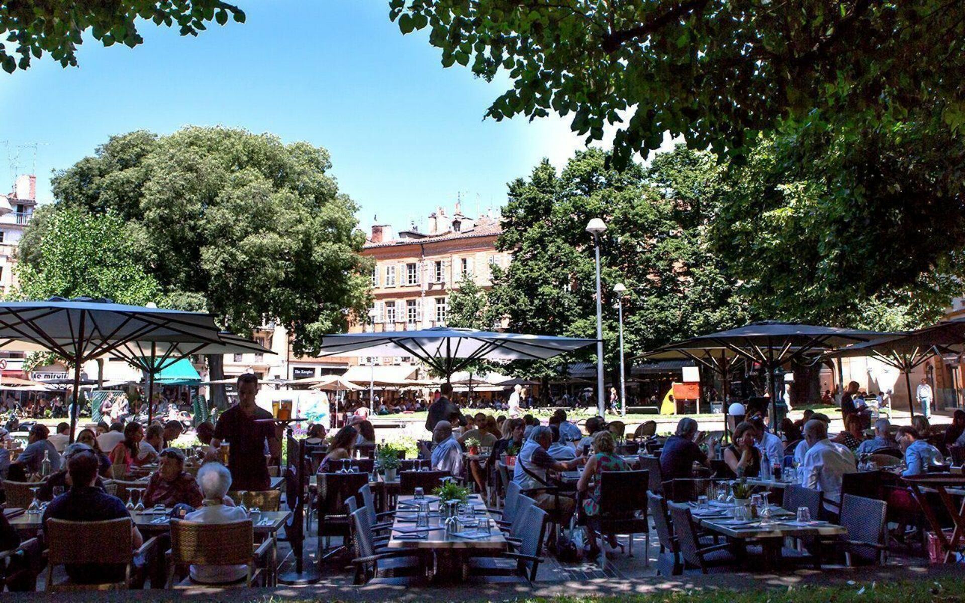 Place Saint-Georges à Toulouse