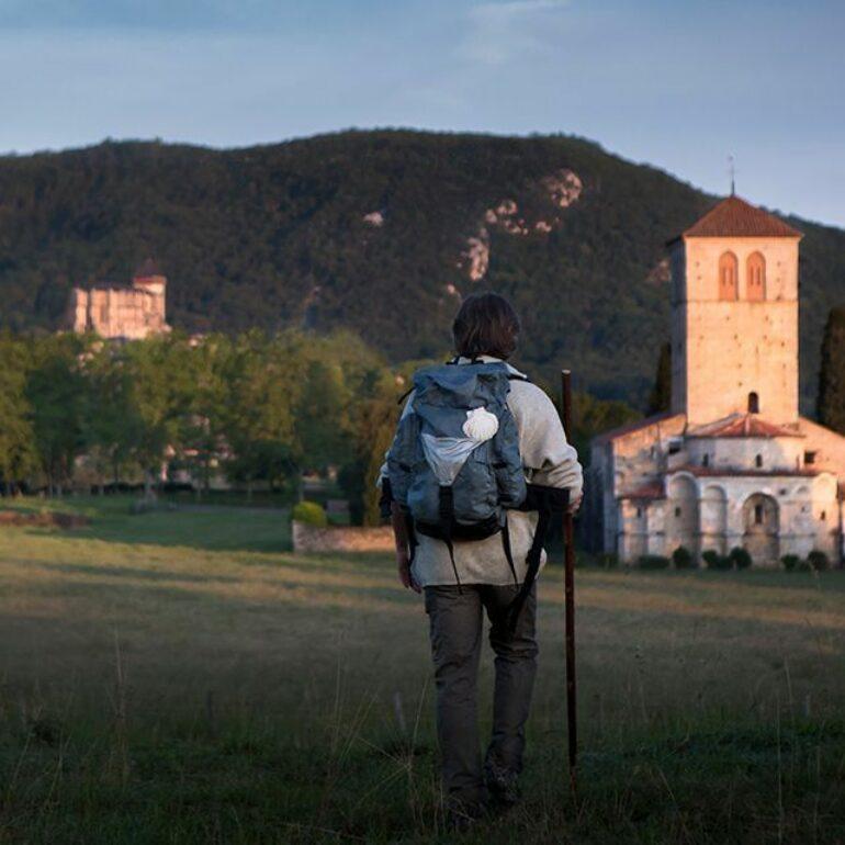L'arrivée sur la Via Garona