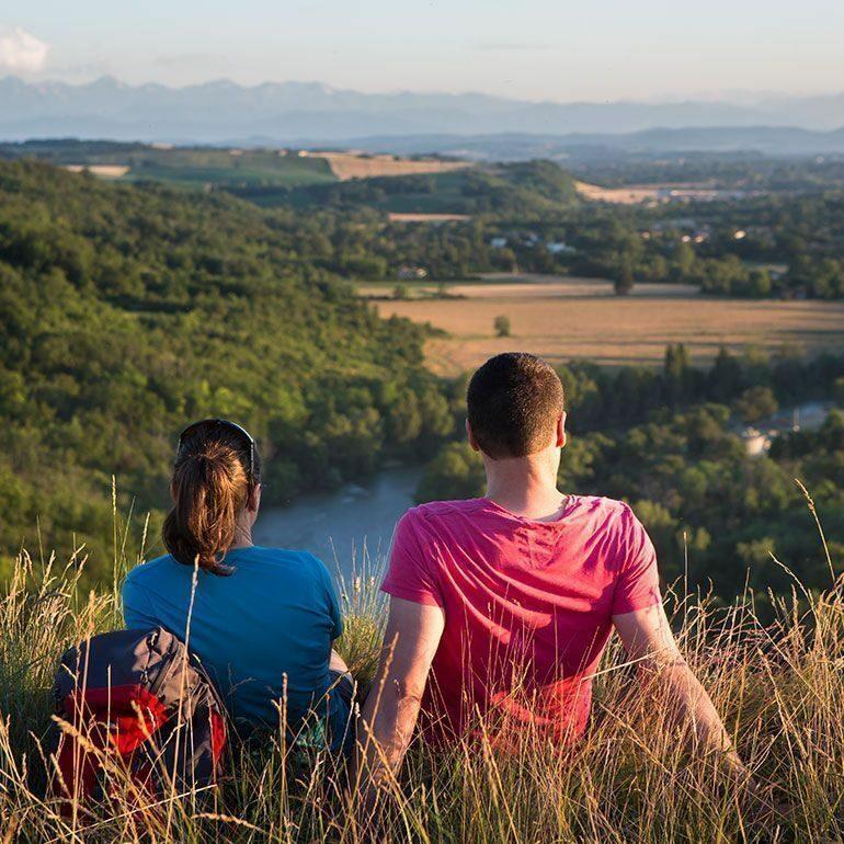 Randonnée Via Garona