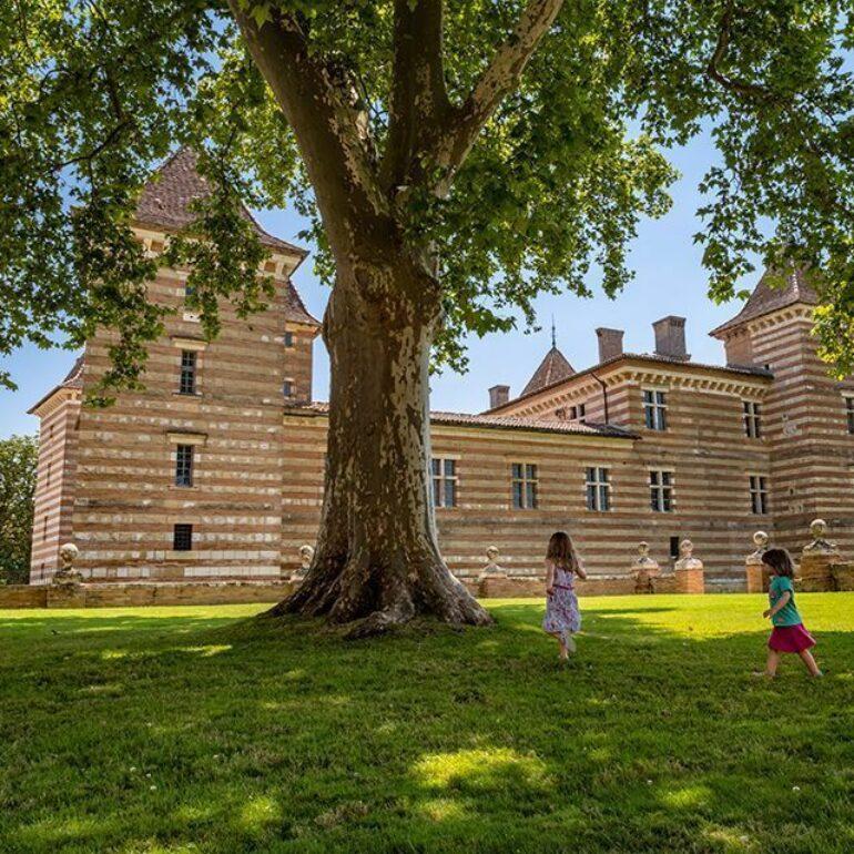 Une visite au château de Laréole