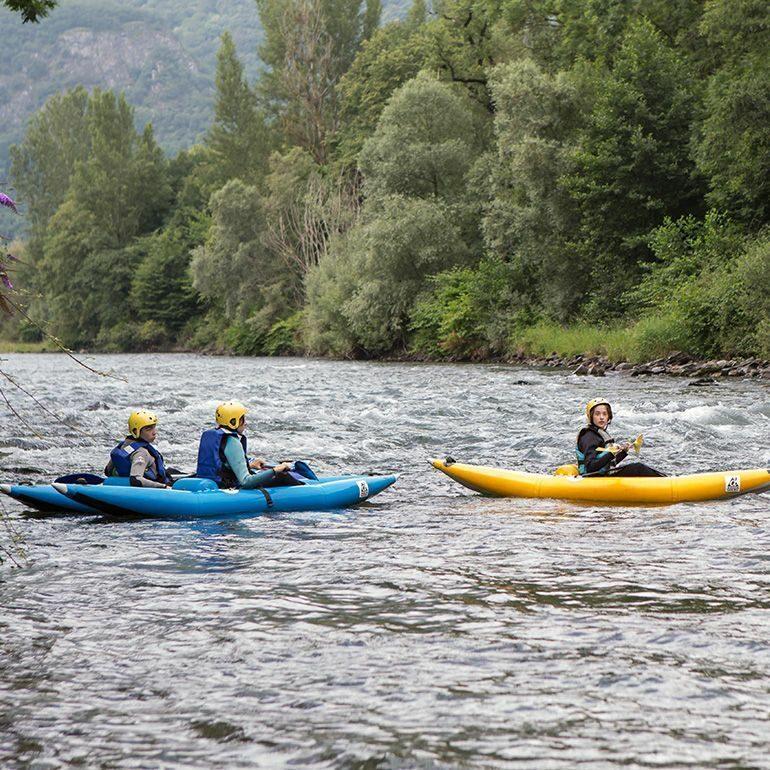 Canoe dans les Pyrénées