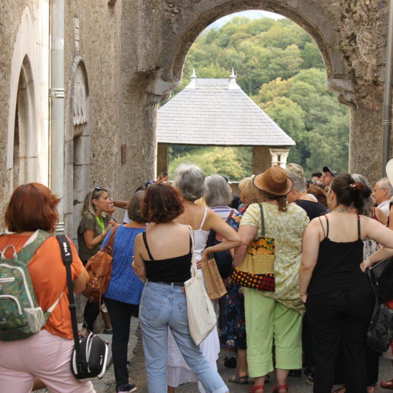 Visite guidée groupe Agnès