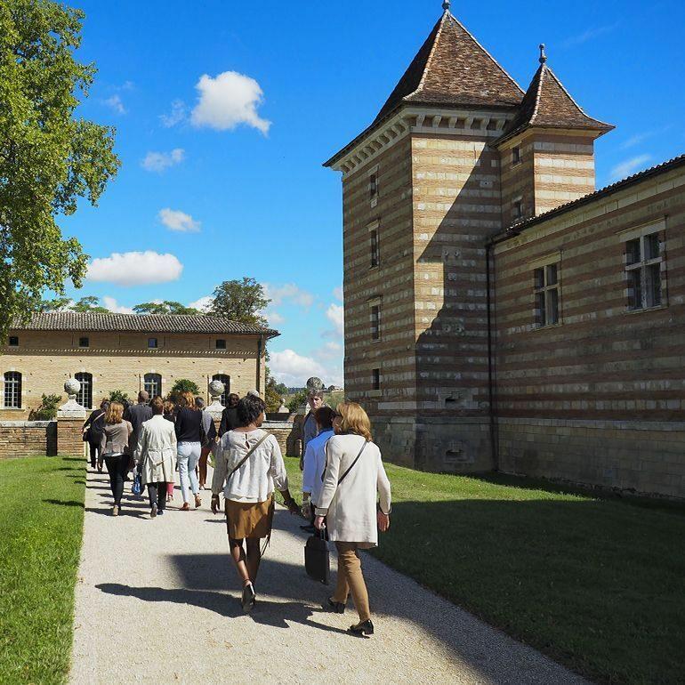 visites guidées chateau Laréole- Cdt31