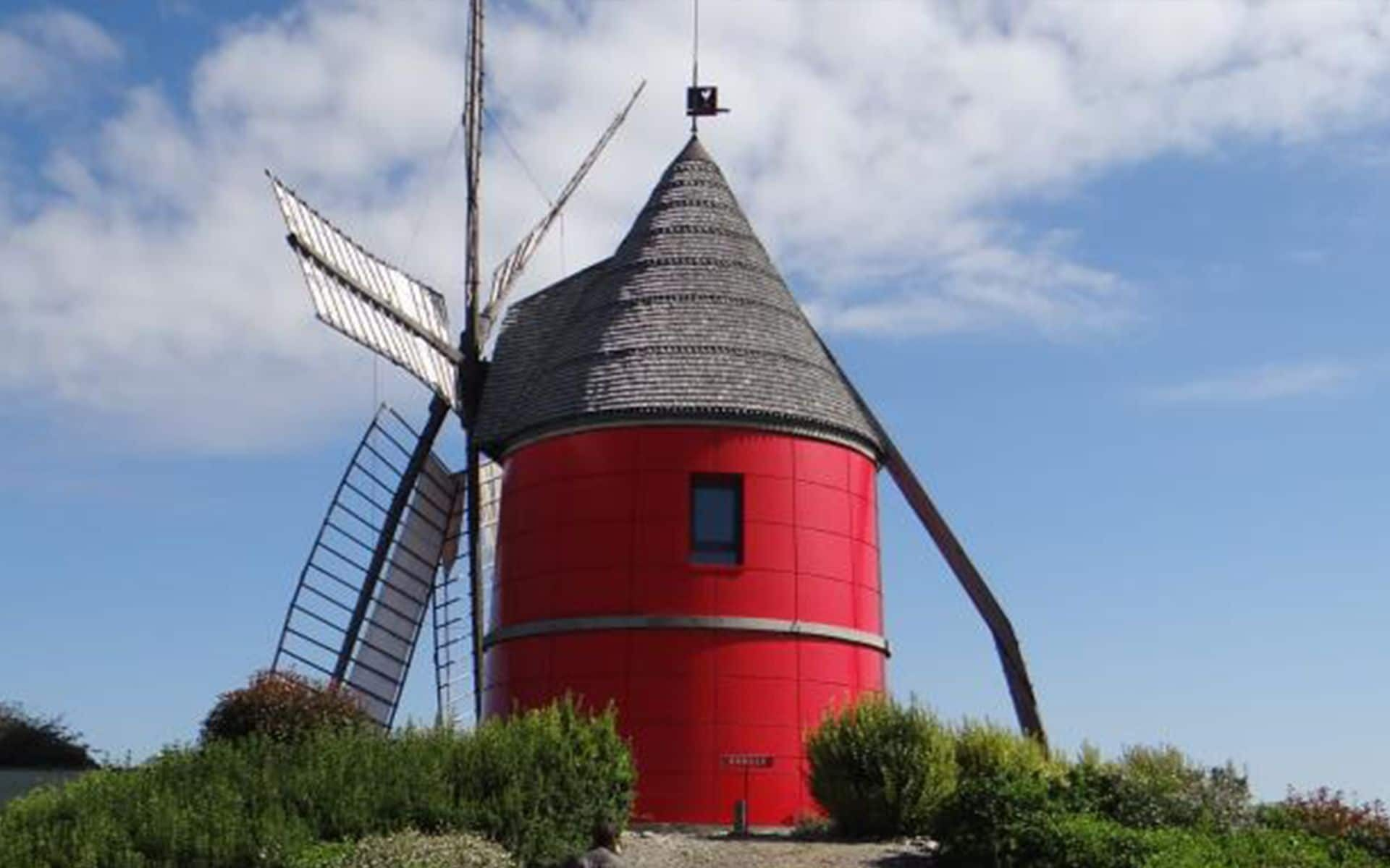 Moulin à six ailes de Nailloux