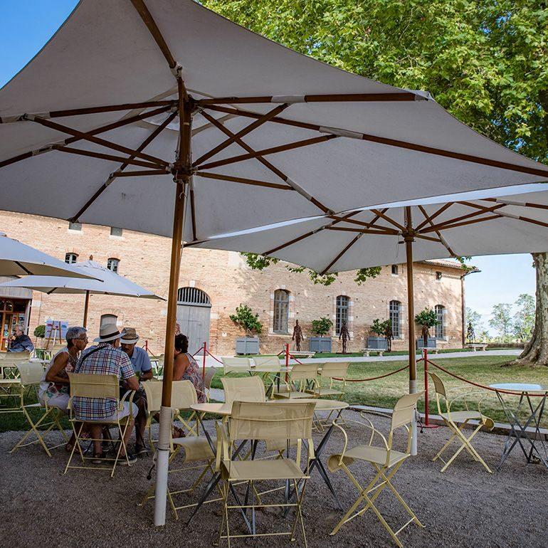 Salon de thé au château de Laréole Laréole