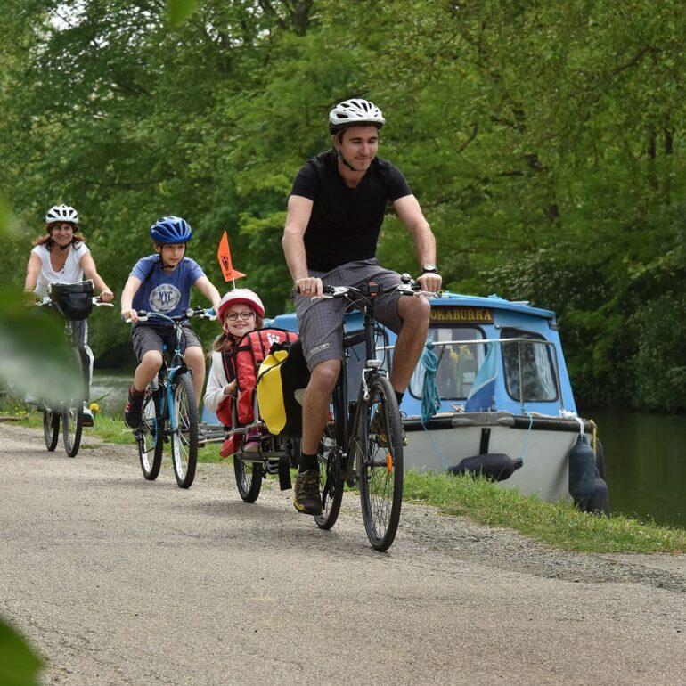 canal des deux Mers à vélo-Castanet Tolosan-dépt.31