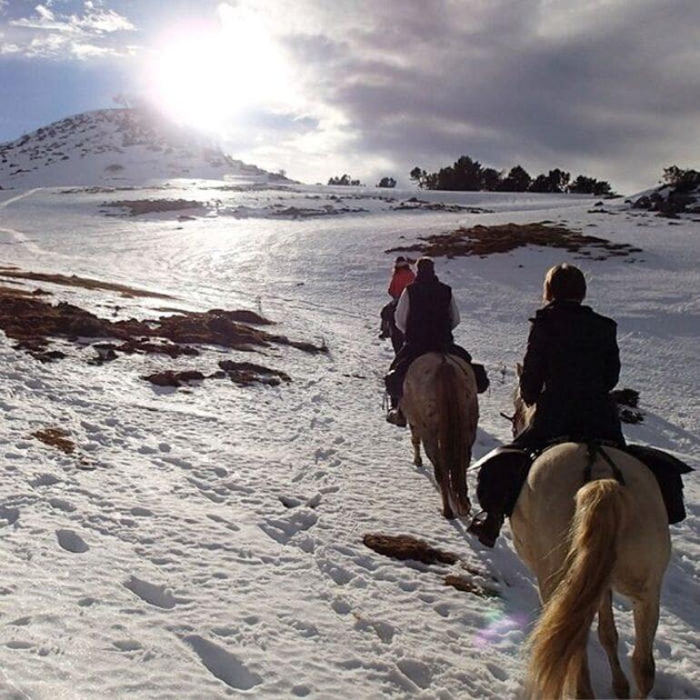 Randonnée à cheval©Calvalcagire
