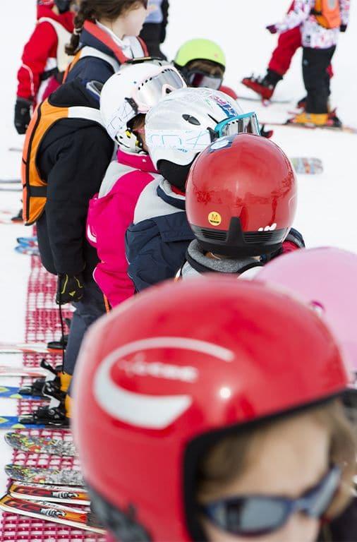 ski casque enfant neige Manuel HUYNH