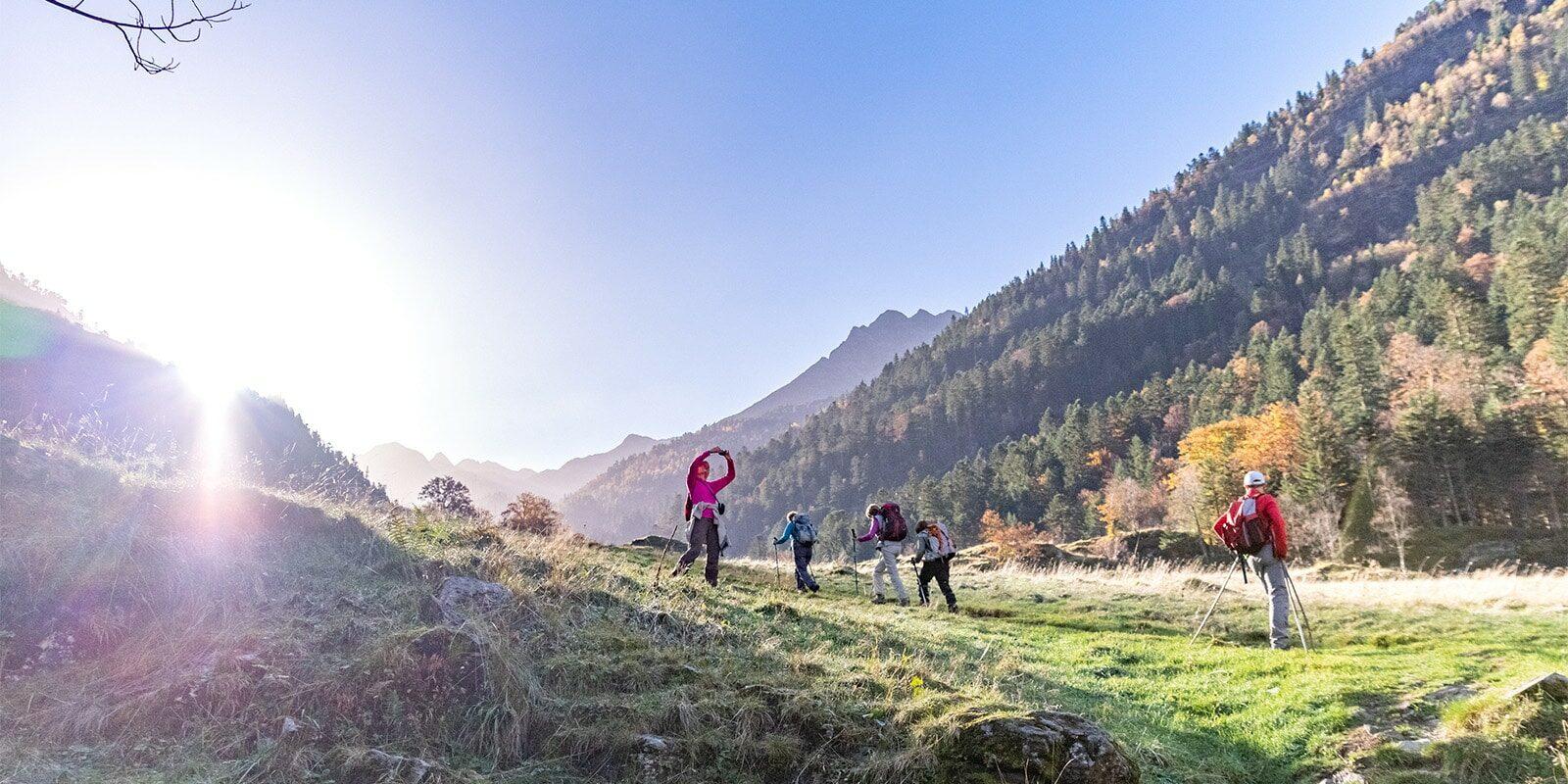 Randonnées en automne dans les Pyrénées-Loïc BEL - BEL ET BIEN VU